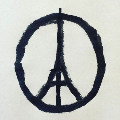 Paris-peace-symbol